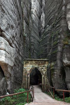 Czech Republic. I would feel like I was in Middle Earth.