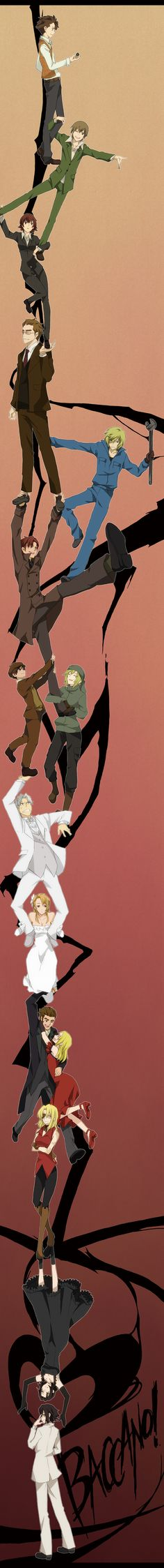 Baccano - version Durarara