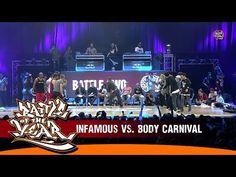 Infamous (France) vs. Body Carnival (Japan)