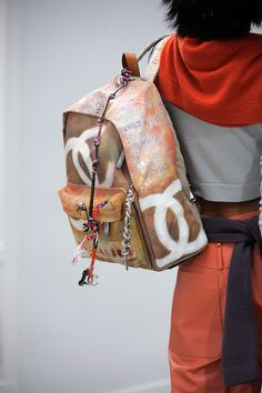 Wouldn't this @CHANEL backpack be the most awesome...