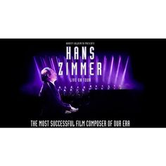 Ticket concert Hans Zimmer - Palais 12 Bruxelles