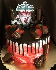 60th Birthday Cake For Men, Football Birthday Cake, Liverpool Cake, Ultimate Chocolate Cake, 18th Cake, Best Cinnamon Rolls, Watermelon Cake, Novelty Cakes, Drip Cakes