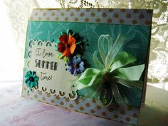 I Love Summertime Starfish card Summer by BennBooCreations on Etsy