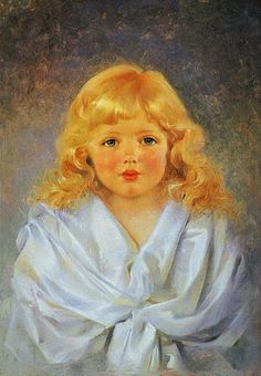 Tytön muotokuva by Gunnar Berndtson
