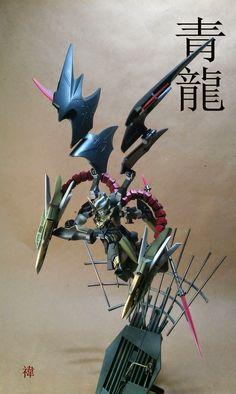 "HG 1/144 Gundam Nataku ""Blue Dragon"" Custom Build with Diorama - Gundam Kits Collection News and Reviews"