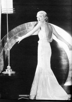 Constance Bennett in a 1934 photo by Elmer Fryer