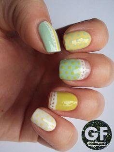 twenty Straightforward, Effortless & Amazing Easter Nail Artwork Patterns, Ideas, Trends & Stickers 2015 | Nail Design #nail #nailart #naildesign #nails
