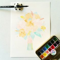 Guys I'm trying to scan this kind of colors, very light and pastel but I am really having a hard time scanning it because my scanner is not picking up the right colors. Do you have any tips on how to go about it? #calligrafikas #grafikas #dreweuropeo #illustration #watercolor #florals #grafikaflora Paper: Art Spectrum 230gsm Paint: Shin Han watercolors Brush: Silver Brush Black Velvet round no 8