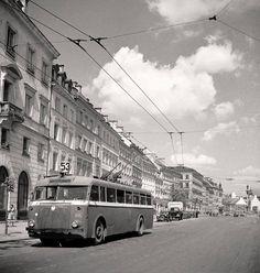 Warszawa, lata 50-te