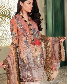 b44f0ca29d Johra Divine Dijital Embroidered Lawn collection 2018 Archives - Umar  Poshak Mehal Lawn, Construction,