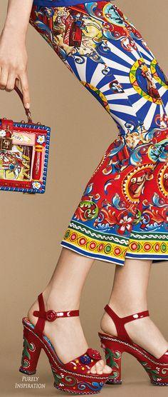 Dolce & Gabbana SS2016 Carretto Siciliano Women's Fashion RTW   Purely…