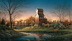 images of terry redlin paintings | Terry Redlin Secondary Market Prints