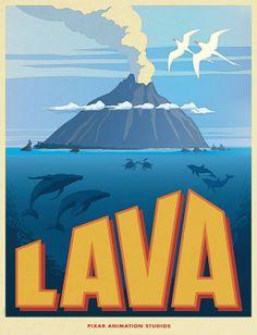 Pixar's Announces 'Lava,' New Musical Short
