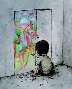 הפטריה | הצייר הזה מציג את הצדדים המכוערים של העולם המודרני בסדרת איורים בועטת