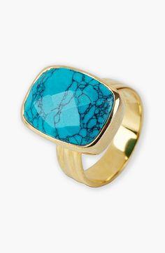 Argento Vivo Stone Ring
