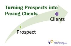 How to Turn Prospects into Paying Clients | VAnetworking.com - The Virtual Assistant Network since 2003 | #VirtualAssistants