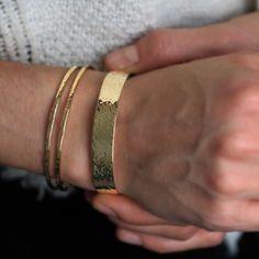 153b4f57b34 Bracelet Jonc fabriqué en France - Boh Atelier