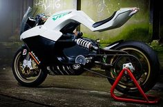 Concept of an electric motorcycle