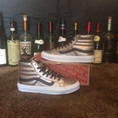 06f2a31ef2 Vans Sk8-Hi Slim Metallic Leather Shoes Vans Sk8 Hi Slim