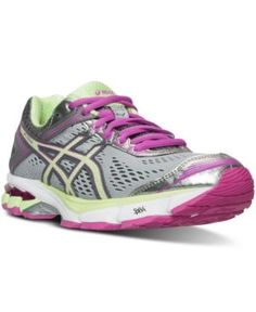 Asics Women s Gt-1000 4 Running Sneakers from Finish Line - Gray 12 Asics  Fashion 16311fce5ac