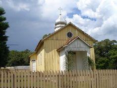 Igreja ucraniana do Banhado Vermelho, em Guarapuava