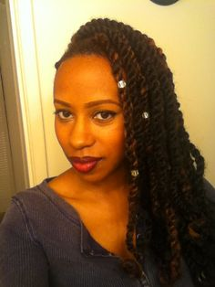 All Things KeetaRay: Protective Style | Marley Twists