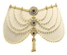 Image result for saree waist belts Waist Belts, Saree, Image, Surrey, Saris, Sari, Half Saree