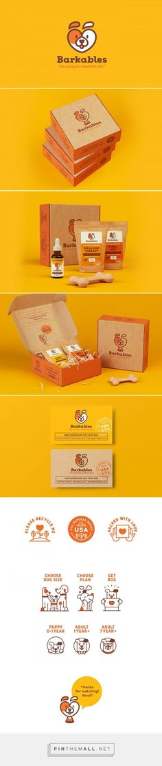 Art direction, branding and packaging for Barkables on Behance curated by Packaging Diva PD. Subscription box service for the packaging smile file : ) - Love a good success story? Learn how I went from zero to 1 million in sales in 5 months with an e-commerce store.
