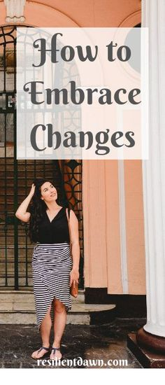 "Learn how to embrace changes, your ""new normal"" to get one step closer to your most resilient life!"