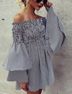 Get the designer look but without the designer price tag like this lookalike flared sleeve dress. | 10 Genius Ways for Making Your Clothes look Designer Expensive