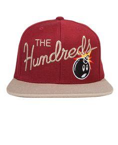 The Hundreds - Nation Snapback Cap - $28