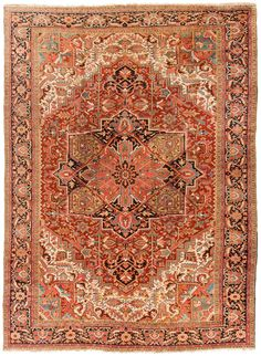 Rug ANT236533 Persian Heriz - Antique Area Rugs by Safavieh