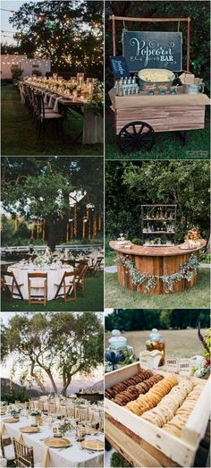 outdoor backyard wedding reception ideas #weddingideas #weddingdecor #weddinginspiration #weddinglights #outdoorwedding #backyardwedding