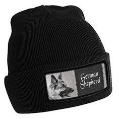 wintermuts Duitse Herder zwart