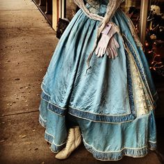 Civil war dress with all the trimmings ❤ Natchez, Mississippi. - @laura_goodall- #webstagram