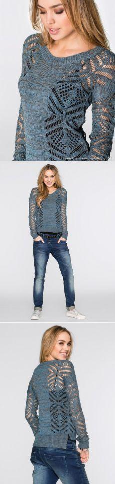 Pullover (die Idee des Strickens)
