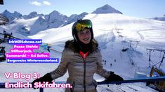 V-Blog 3 Passo Stelvio mit Lena: Endlich Skifahren (Winterstart 2020/21). Winter, Step By Step, Skiing, Winter Time