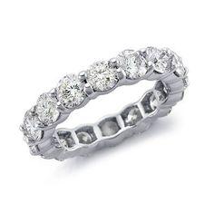 5 ct. tw. Diamond Eternity Band Ring 14K White Gold