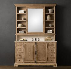 Ana White | Build a Vanity Hutch with Recessed Lights | Free and Easy DIY Project and Furniture Plans