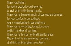 Get here the Thanksgiving prayer for the family. We have collection of short, long and printable thanksgiving prayers by family at dinner Thanksgiving Prayers For Family, Prayer For Family, Printable Cards, Printables, Thanksgiving Table Settings, Blessed, Joy, Dinner, Blessings
