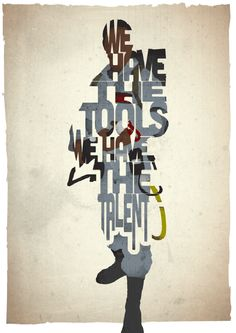 Gave typografie posters van oude films   | roomed.nl
