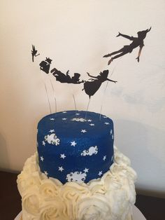 Peter Pan cake #khoobakehi