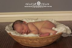 Picture from newborn session using the set up shown previously.