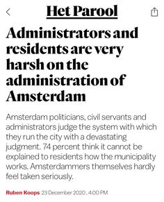 Politicians, Amsterdam, Things To Think About, It Works, Feelings, News