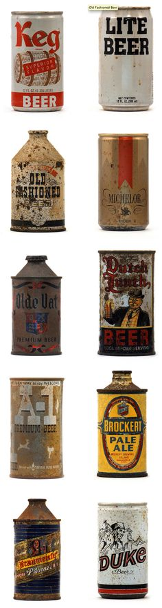 Old Beer Cans