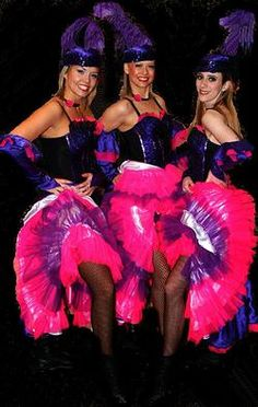 Hire Charleston Flappers and Can can dancers. Vegas Showgirl, Burlesque Show, Professional Dancers, Flappers, Showgirls, Charleston, Night, Group, Actresses