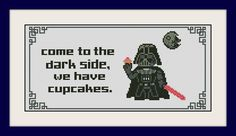 Star Wars Cross stitch pattern Quote cross von MagicStitching
