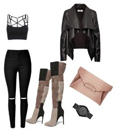 Untitled #39 by tay-liangg on Polyvore featuring polyvore, fashion, style, HIDE, Steve Madden, Givenchy, Michael Kors and clothing