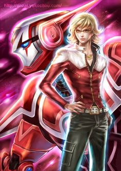 『Tiger & Bunny』 Barnaby Brooks Jr