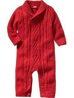 Footless Cable-Knit One-Piece for Baby | Old Navy